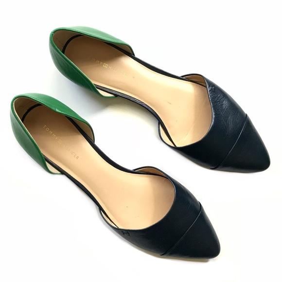 35dd209e Tommy Hilfiger Naree3 Color Black Leather Flats. M_5b568961d8a2c79e53ca2f99